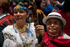 Delegadas de Sudamérica en el foro (UN)