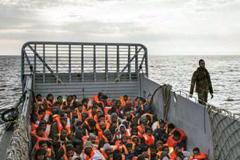 Rescate de migrantes en Mediterráneo (OIM)