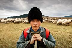 Niño pastor (Foto ILO)