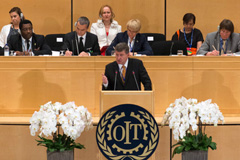 Guy Ryder, director general  de la OIT (UN)