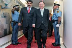 Ban Ki-moon y Maduro en la ONU (UN)