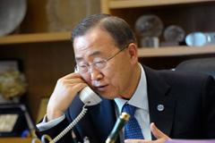 Ban sigue situación de Venezuela y Colombia (UN)