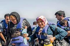 Migrantes escapados de la guerra (UN)