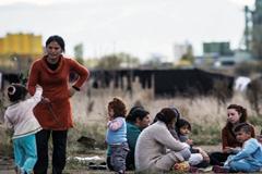 Niños en campamentos de refugiados (UN)