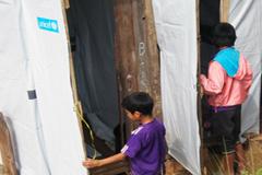 Retretes construidos por UNICEF (UN)