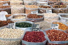 Legumbres, alimentos saludables (FAO)