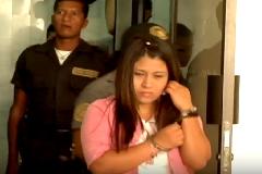 Niña guatemalteca detenida (UN)