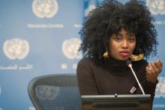 La cantante Inna Moja contra la mutilación (UN)