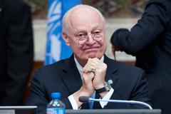 De Mistura negociador de la ONU (UN)