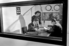 Primera radio de la ONU en 1949 (UN)
