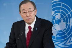 Ban Ki-moon en Ginebra (UN)