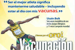 Bold apoya la campaña de vacunación (PAHO)