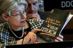 Irina Bokova, presenta la guía (UN)
