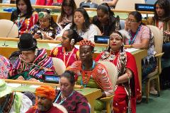Participante del Foro indígena (UN)