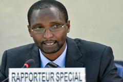 Relator Mutuma Ruteere (UN)