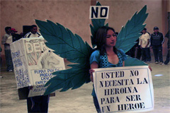 Una campaña contra la droga (UN)