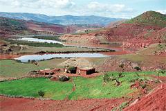 Amenaza de la erosión de la tierra (WB)