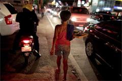 Niño trabajador nocturno (UN)