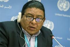 Alvaro Pop, relator de la ONU (UN)