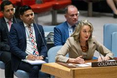 María Mejía, Embajadora de Colombia (UN)