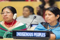 Indígenas frente al Convenio 169 (UN)