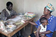 Una ONG caritativa en Africa (UN)