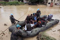 Inundaciones en Haití (UN)