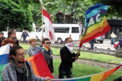 Protesta de ONG transexuales (UN)
