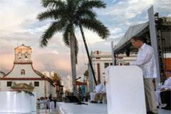 Ban Ki-moon en Cartagena (UN)