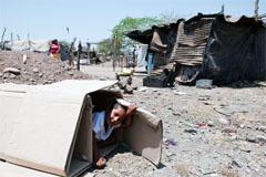 La pobreza de niños menores (WB)