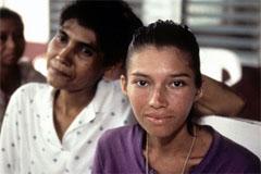 Refugiadas de Centroamérica (UN)