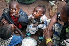Niños entre los excluidos sociales (UN)