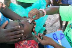 Campaña de vacunación en Haití (UN)