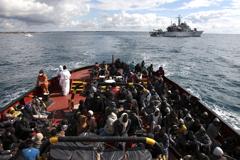 ACNUR: Aumentan las llegadas de migrantes y refugiados a Grecia y España