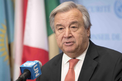 Saludo de Año Nuevo de Antõnio Guterres, Secretario General de la ONU