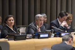 La equidad de género y la unidad mundial, en el centro de la agenda de la ONU para 2018