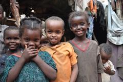 Niños Somalien