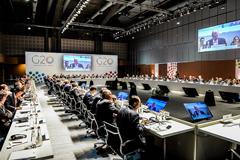 Comenzó la Primera reunión de ministros de Finanzas y presidentes de Bancos Centrales del G20