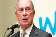 Bloomberg donará 4,5 millones de dólares para luchar contra el cambio climático
