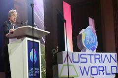 Cumbre Mundial Austriaca: Energía limpia, la meta en la carrera contra el cambio climático