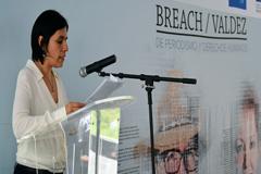 Daniela Rea, Premio Breach/Valdez de Periodismo y Derechos Humanos 2018