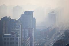 Cuidad con smog