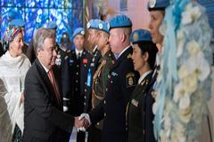 Guterres: La bandera de la ONU ya no protege a los cascos azules