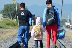 """ONU: Es """"inadmisible"""" que un Estado, como Estados Unidos, separe a los niños de sus padres"""