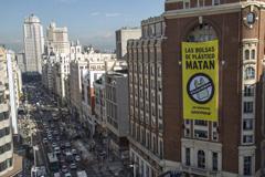 """Campaña de Greenpeace """"No más plásticos en nuestra comida"""""""