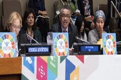 Dirigentes de todo el mundo se comprometen a cumplir objetivos ambiciosos y a actuar con rapidez para poner fin a la tuberculosis