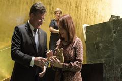 María Fernanda Espinosa asume su cargo como presidenta de la Asamblea General de la ONU