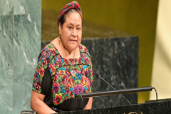Rigoberta Menchú: La expulsión de la CICIG amenaza la democracia en Guatemala