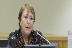 """Bachelet: """"El gobierno de Nicaragua debe cesar el acoso contra la sociedad civil y los medios de comunicación"""""""