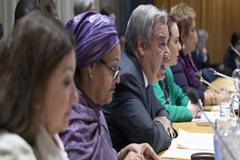 Guterres: Hay que pisar el acelerador en cambio climático, desarrollo sostenible y nuevas tecnologías